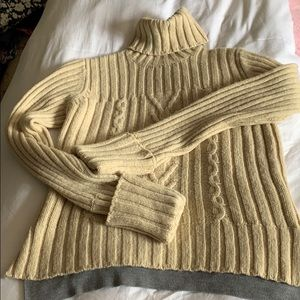Tory Burch Wool Turtleneck Sweater, M
